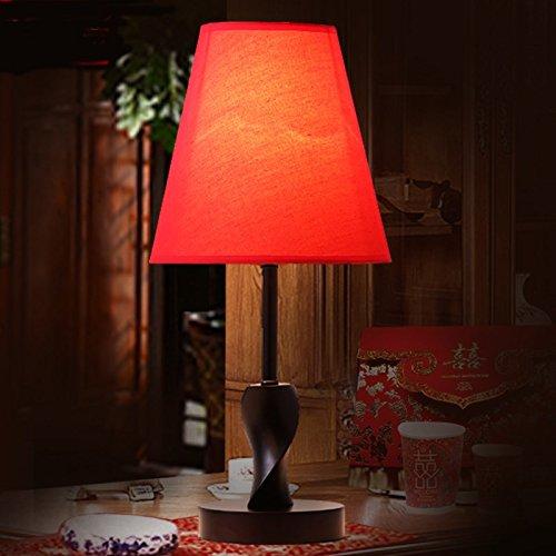 YFF@ILU Einfache kreative Mode warme Holz- nachttischlampe Nachttischlampe Schlafzimmer Wohnzimmer Beleuchtung, Schalter