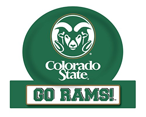 Colorado State Rams Jumbo Tailgate Magnet (Colorado State University Gear)