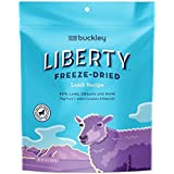 Buckley Liberty Freeze Dried Dog Food/Food Topper And Mixer, Lamb, 10 Ounce