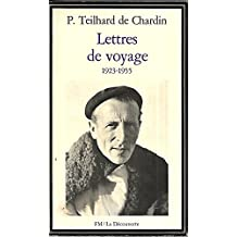 Lettres de voyage, 1923-1955