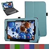 "RCA 11 Maven Pro Case,Mama Mouth PU Leather Folio 2-folding Stand Cover with Stylus Holder for 11.6"" RCA 11 Maven Pro RCT6213W87DK Tablet,Light Blue"