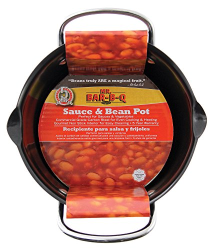 Mr. Bar-B-Q 06101YNS Sauce And Bean Pot