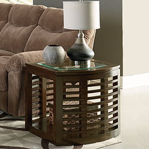Standard Furniture Accolade End Table, Brown