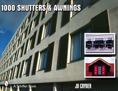1000 Shutters & Awnings (Schiffer Book) ebook