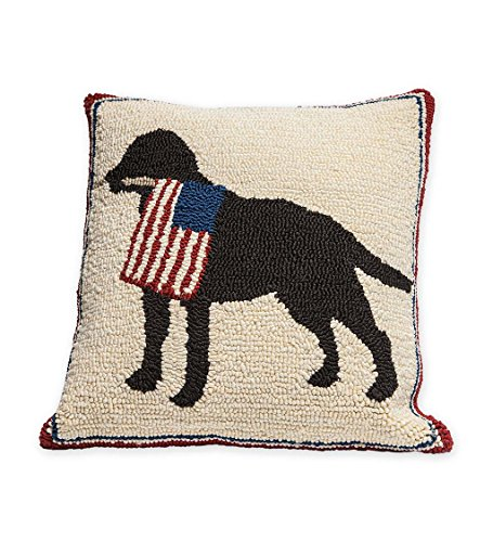 Indoor Outdoor Patriotic Dog Decorative Throw Pillow, for sale  Delivered anywhere in USA