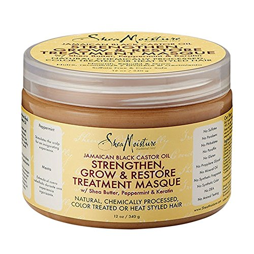Price comparison product image SheaMoistureJamaican Black Castor Oil Strengthen, Grow & Restore Treatment Masque | 12 fl.oz.