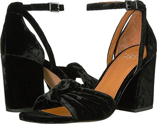 Franco Sarto Women's Edana Black Smart Velvet/Fabric 11 M US M