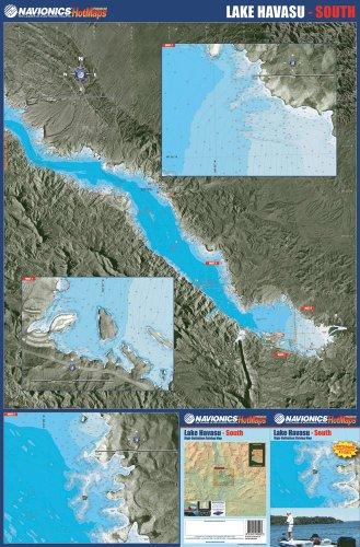 Lake Havasu Fishing Map - Bundle