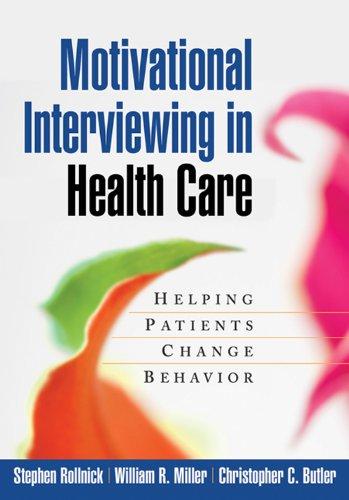 Download Motivational Interviewing in Health Care: Helping Patients Change Behavior (Applications of Motivational Interviewin) Pdf