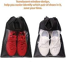Amazon.com: Paquete de 12 bolsas de zapatos para viajes, no ...