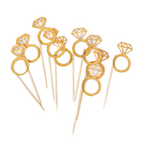 Bidlsbs-Wedding-Bridal-Shower-Cupcakes-Toppers-Glitter-Mini-Diamond-Ring-Cupcake-Picks-Gold-Birthday-Party-SuppliesSet-of-10