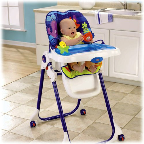 Amazon FisherPrice Ocean Wonders Healthy Care High Chair – Fisher Price Easy Fold High Chair Recall