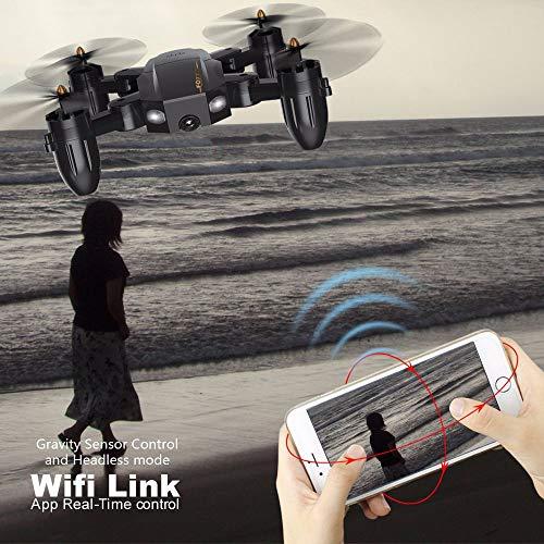 ZIHENGUO ZIHENGUO FQ777-FQ36 Mini Drone Pliant 4CH Aéronef À Quatre HD Axes WiFi HD Quatre Caméra Vidéo en Temps Réel Gyroscope À 6 Axes Mode De Protection sans Tête Basse Puissance 3e41bd