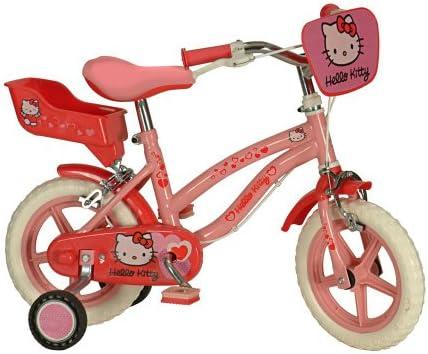 Bicicleta infantil Hello Kitty mujer 30.48 cm bicicleta para niños ...