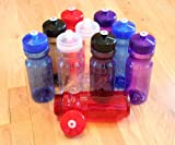 Rolling Sands BPA Free 24oz Drink Bottles (10 Pack, Made in USA)