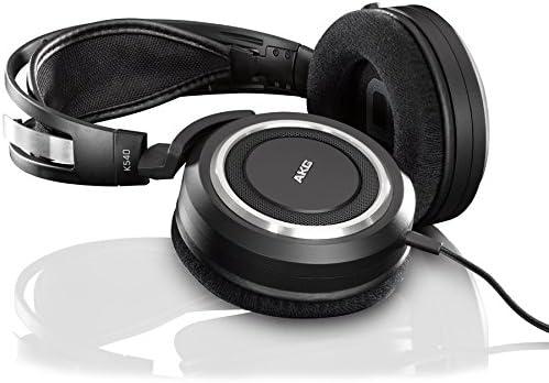 akg k540 hi-fi casque audio stereo noir