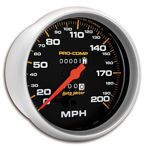 (Auto Meter 5156 Pro-Comp Mechanical in-Dash Speedometer)