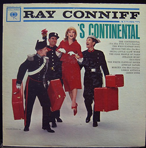 "Price comparison product image RAY CONNIFF 's continental 12"" Mint- CL 1776 6 Eye 1A/1B Vinyl 1962 Record"