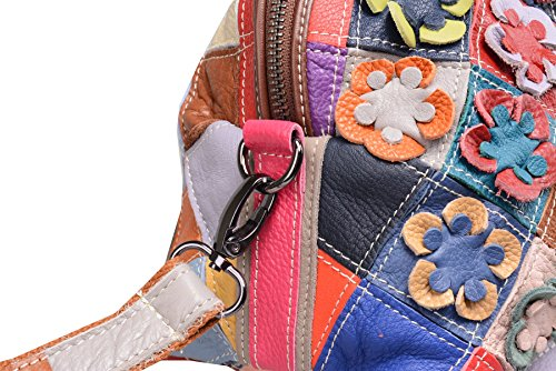 Heshe with Purses Summer Cross Bags Women's Tote Shoulder Hobo Flower 2b4034 Style Body Colorful Handbags rzqrgp