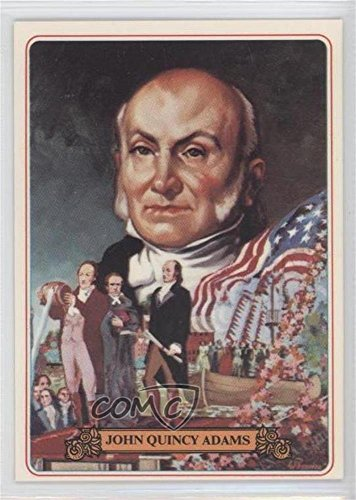 John Quincy Adams (Trading Card) 1976 Bel-Art Know Your U.S. Presidents - Food Issue [Base] - Kilpatrick's Bread #6 -