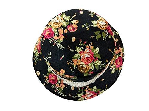 Mujer Boater Algod Sombrero Porkpie Acvip AqwtSdA0