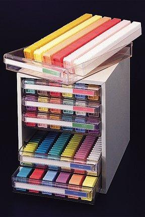(Tissue-Tek Embedding Ring Filing Cabinet (6 drawer cabinet))