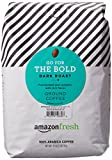 AmazonFresh Go For The Bold Ground Coffee, Dark Roast, 32 Ounce For Sale