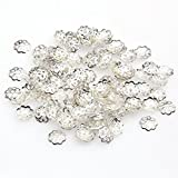 Femitu Beautiful Bead 6mm Silver Tone Flower Bead Caps for Jewelry Making (About 500pcs)