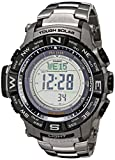 Image of Casio Men's Pro Trek PRW-3500T-7CR Tough Solar Triple Sensor Digital Sport Watch