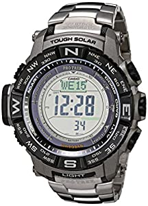 Casio Men's PRW-3500T-7CR Pro Trek Tough Solar Digital Sport Watch