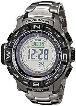 Casio Men's Prw-3500t-7cr Pro Trek Tough Solar Digital Sport Watch 0
