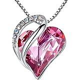 PLATO H Swarovski Crystal Heart Color Changing...