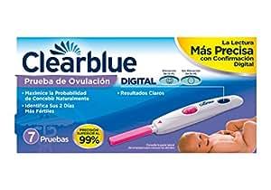 Clearblue Prueba de Ovulación Digital 7 Unidades