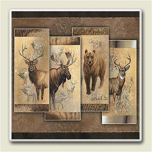 North American Collection Absorbastone Wildlife Trivet