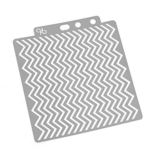 Embossing Plastic Stencil - Simdoc Wave Stencils Template Plastic Painting Template DIY Craft for Painting Scrapbooking Embossing Stamping Making Photo Album Card