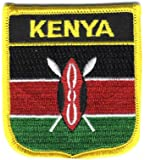 Kenya - Country Shield Patches