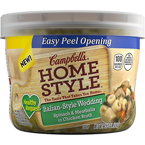 Campbell#039s Homestyle Healthy Request Soup ItalianStyle Wedding 153 Ounce