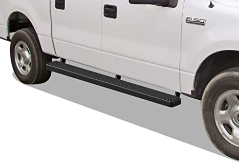 iBoard Running Boards 4 Custom Fit 2004-2008 Ford F150 SuperCrew Cab Pickup 4-Door Nerf Bars | Side Steps | Side Bars Excl. 04 Heritage Edition