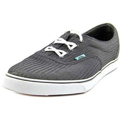 Vans Unisexe Lpe Mherringbone Sneakers Noir / Bisque Gn.