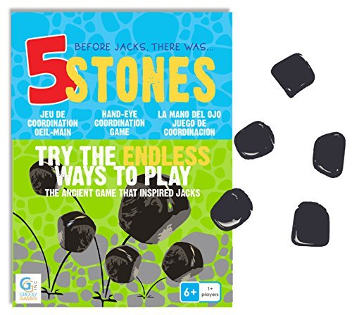 5 Stones  Hand Eye Coordination Game by Griddly Games
