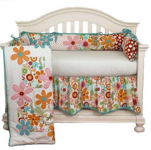 (Cotton Tale Designs Lizzie 4 Piece Crib Bedding Set)