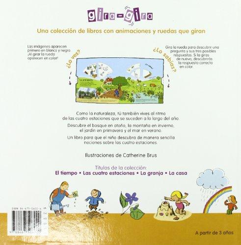 Las Estaciones/ The Seasons (Gira-gira) (Spanish Edition)