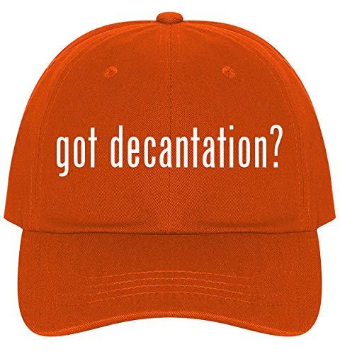 The Town Butler got Decantation? - A Nice Comfortable Adjustable Dad Hat Cap, Orange