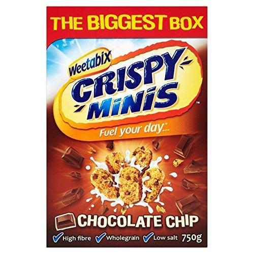 Weetabix Crispy Minis Chocolate Chip 600g by Weetabix