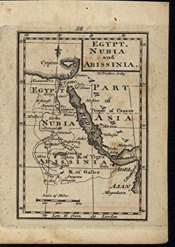 egypt-nubia-abyssinia-red-sea-arabia-sinai-peninsula-c1798-antique-engraved-map