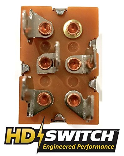 John Deere 318, 320, 330, 332, 420, 430 Clutch PTO Switch - FREE Rubber Grip Upgrade