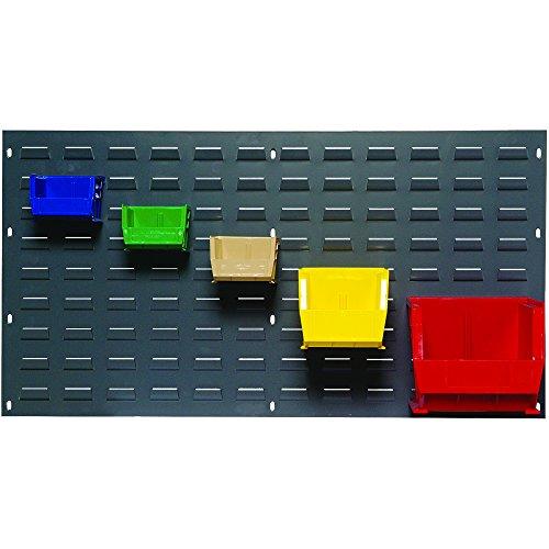 """BOX USA BBINR3619P Wall Mounted Panel Rack, 18"""" x 19"""", Gray"""