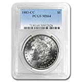 1883 CC Morgan Dollar MS-64 PCGS $1 MS-64 PCGS
