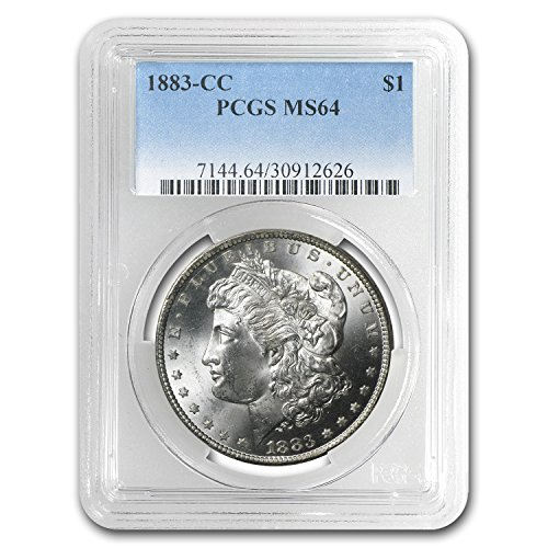 (1883 CC Morgan Dollar MS-64 PCGS $1 MS-64 PCGS)