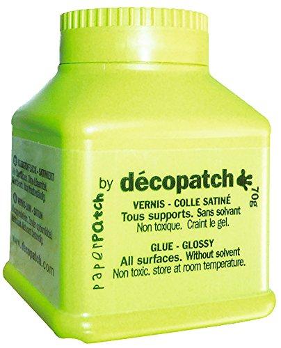GLOREX 6 2030 051 Decopatch Klebstofflack satiniert, 70 g